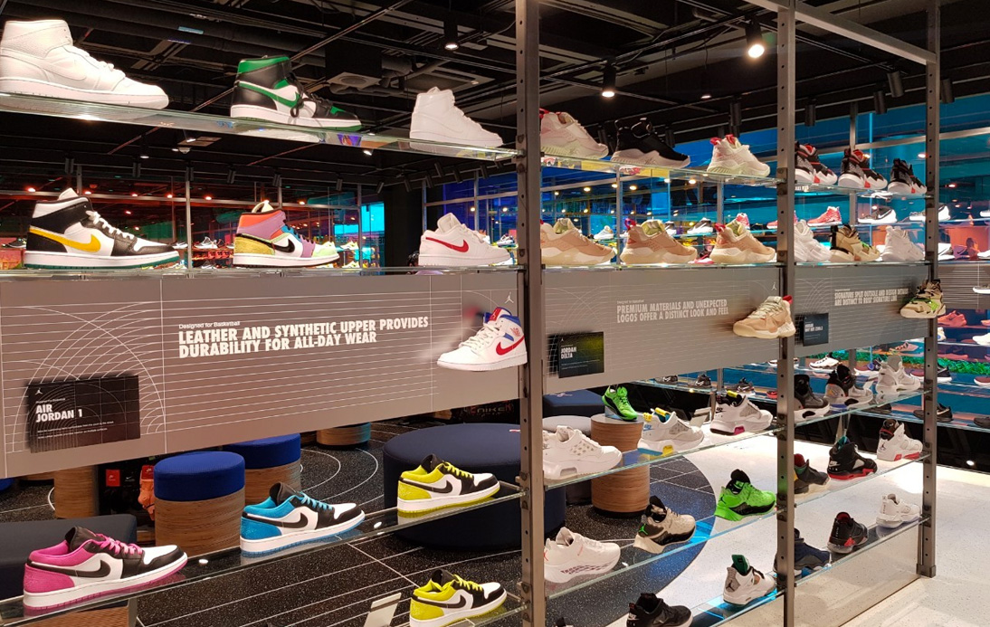 Nike Opens Their Flagship Bangkok Store at Siam Center