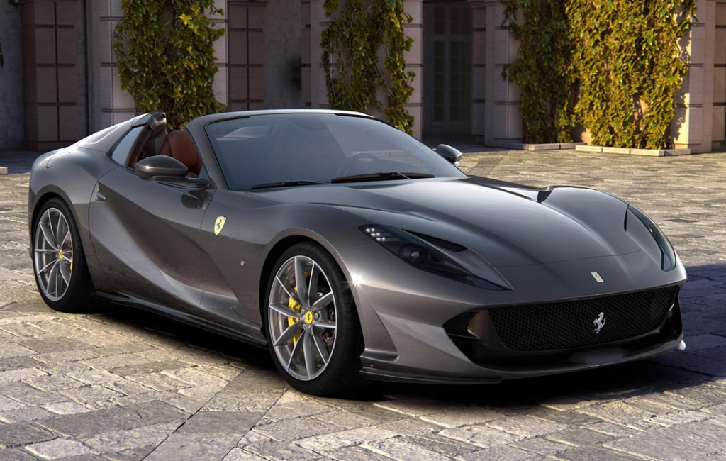 Ferrari Bring 812GTS and F8 Spider Models to Thai Market