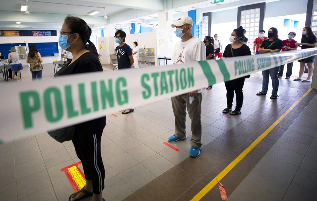 Singapore Holds Elections Amid Pandemic and Impending Recession