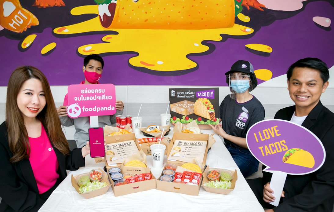 Taco Bell's 'D.I.Y. Taco Kit' only on foodpanda
