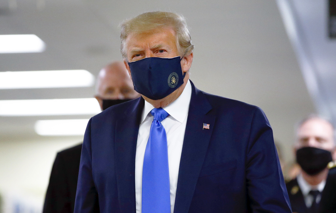 Donald Trump Shift on Masks and COVID-19 Seriousness