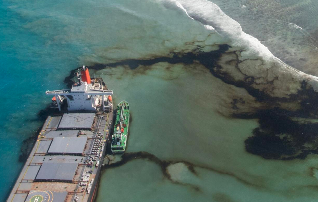 Oil Spill in Mauritius Deemed to Be an Environmental Crisis