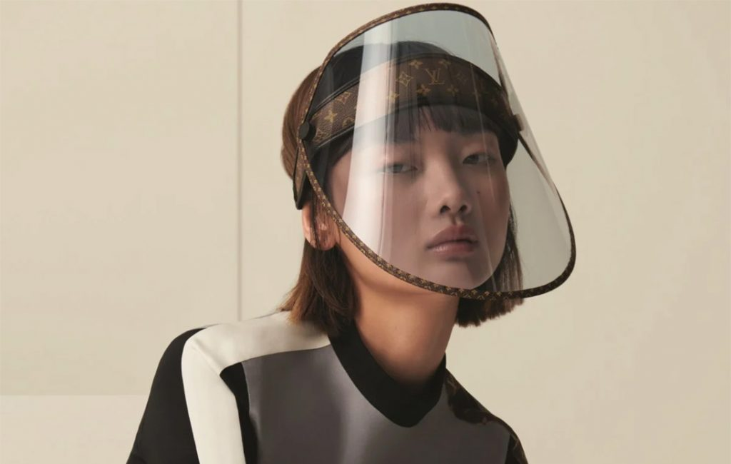 Louis Vuitton Release Face Shield to Protect From COVID-19