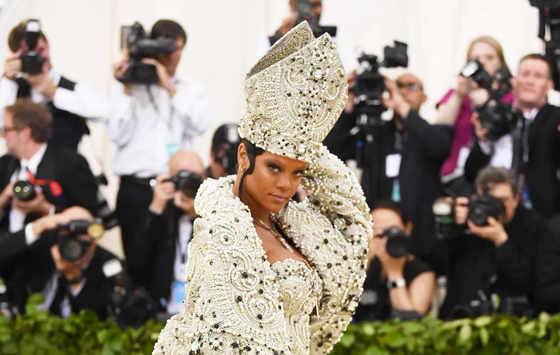 Rihanna as the God Empress of Barbados