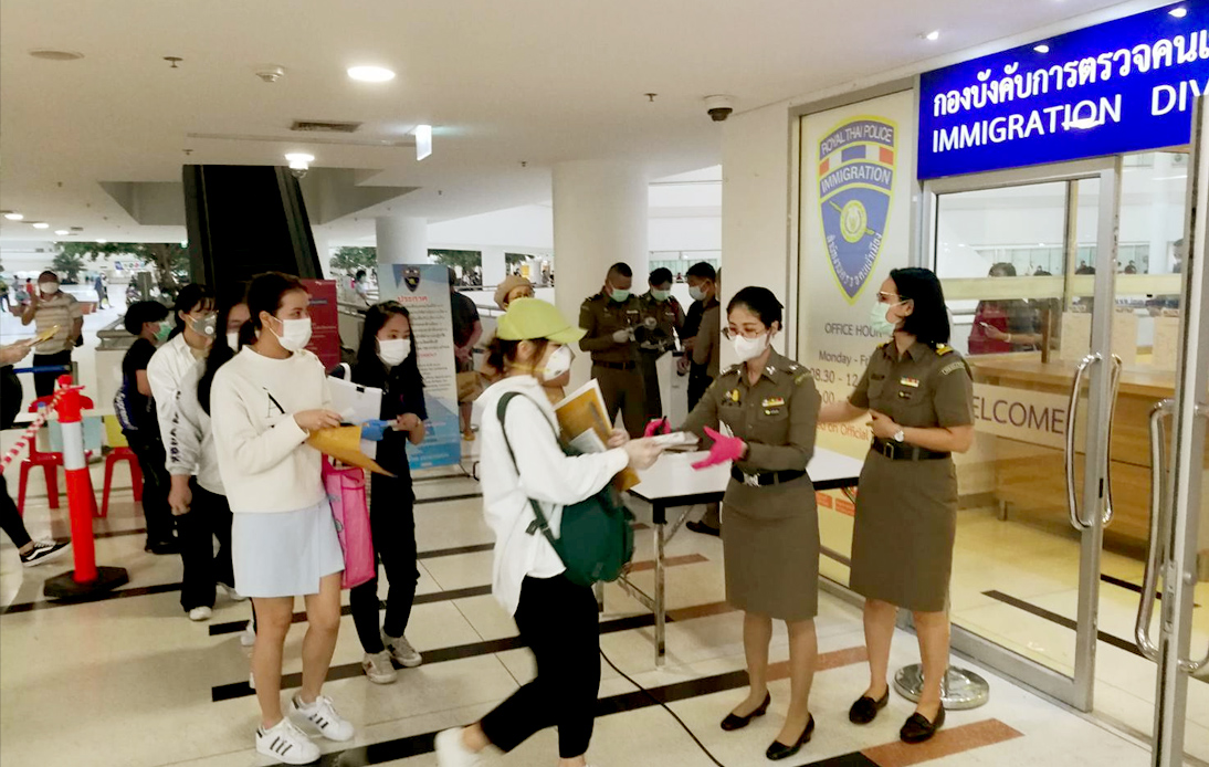 Thai Immigration Extend Visa Amnesty at the Last Minute