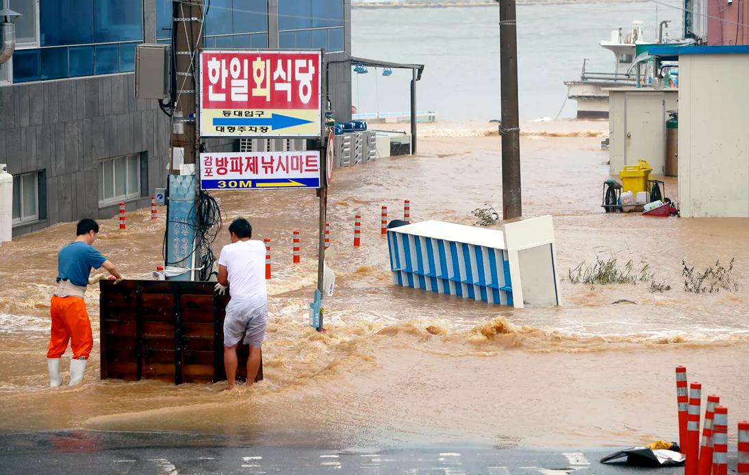 Typhoon Haishen Makes Landfall in South Korea After Passing Through Japan