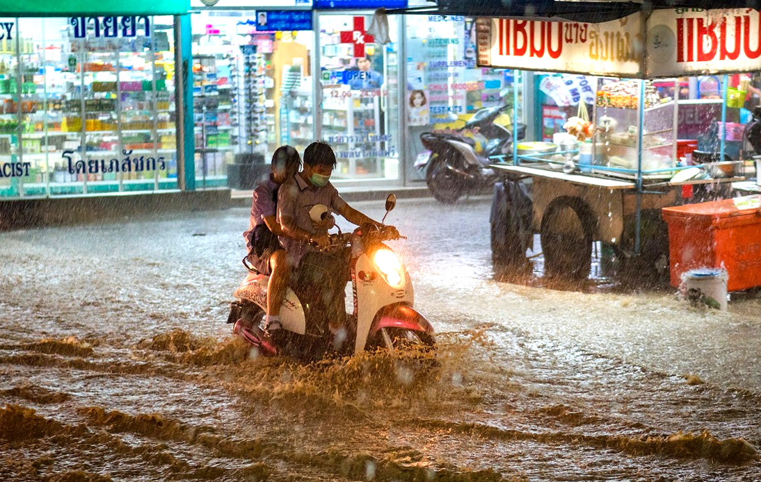Thailand Can Expect Heavy Rainfall Throughout This Week