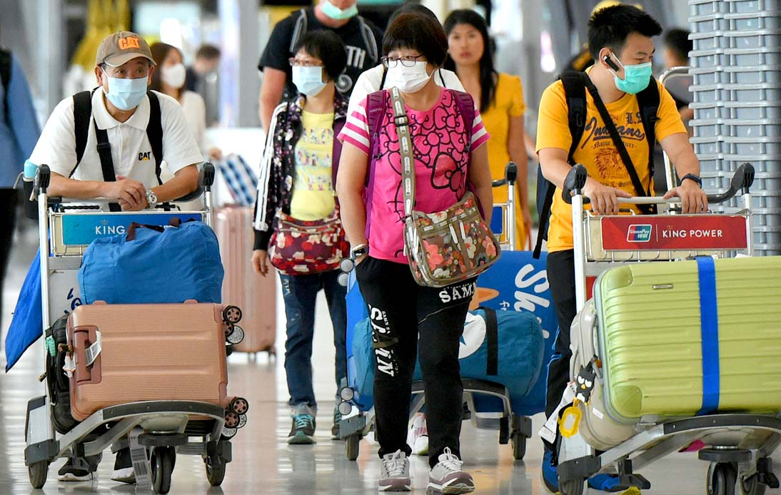 First Tourists Arrived in Bangkok on Tuesday After 7 Months