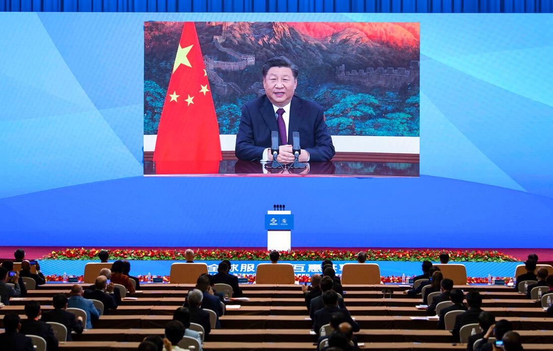 A conference with Zi Jinping