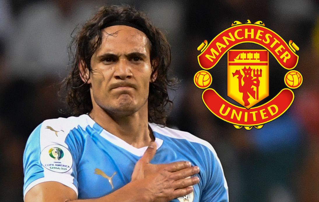 Manchester United about to sign free agent Edinson Cavani