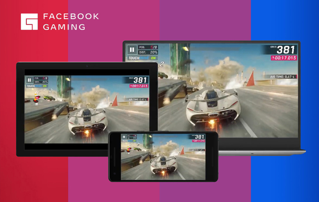 Facebook gaming on different devices