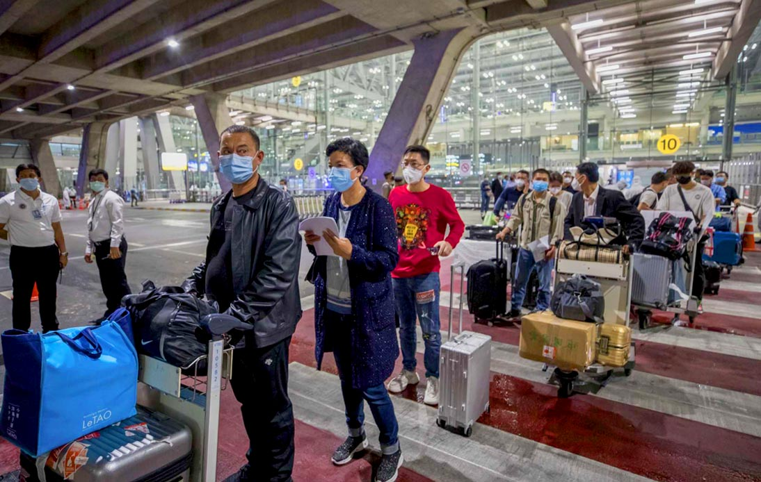 First 39 Chinese Tourists in Thailand Tested Negative for Coronavirus