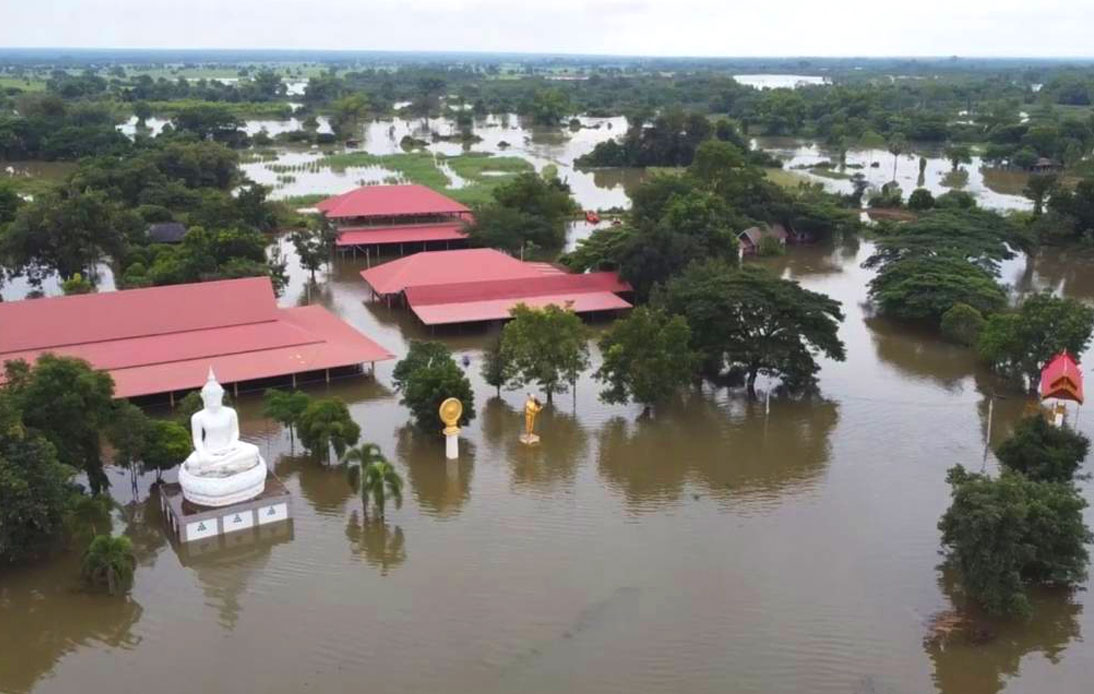 Flooding in Korat