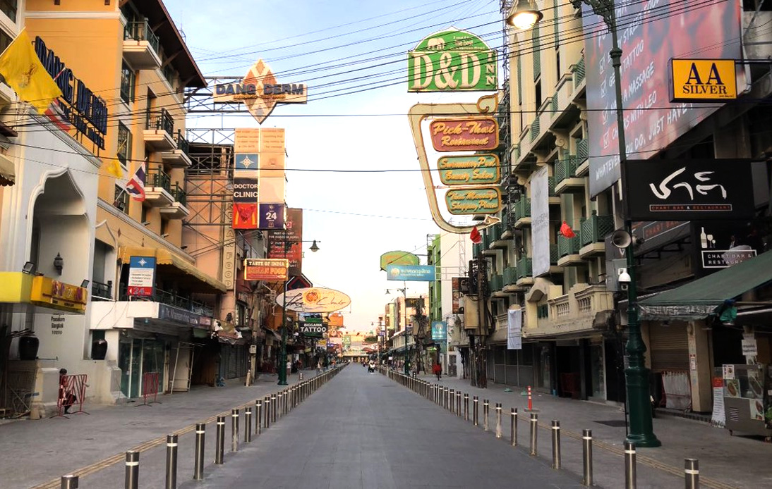 Khao San Road Reopens for Locals and Expats Next Month