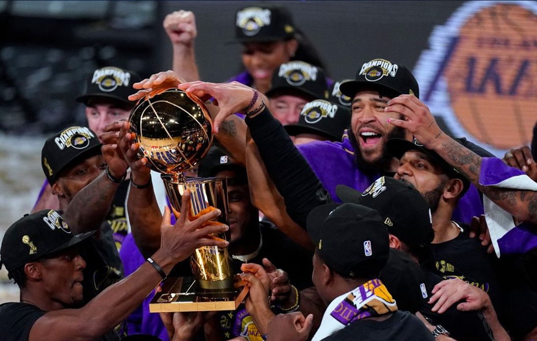 Lakers Pay Tribute to Kobe Bryant After Winning NBA Title