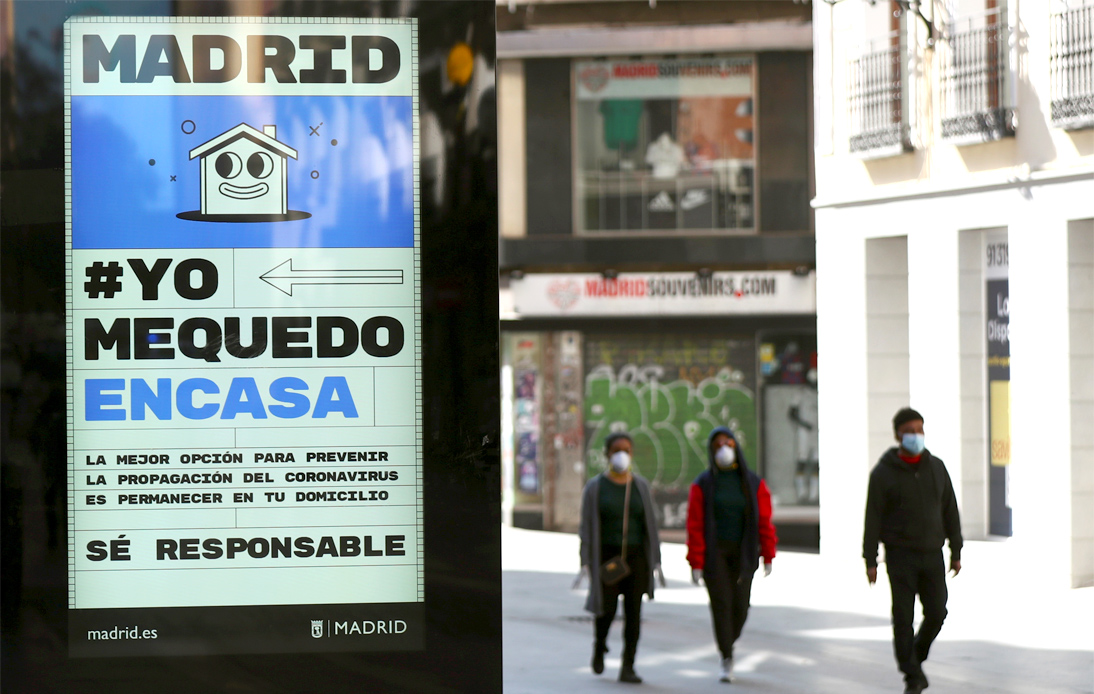Spain Orders Lockdown in Madrid Amid Increase in COVID-19 Cases