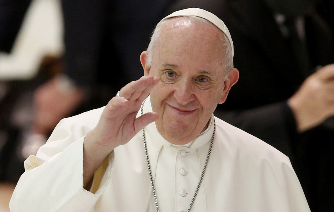 Pope Francis Shows Support for Civil Unions of Same-Sex Couples