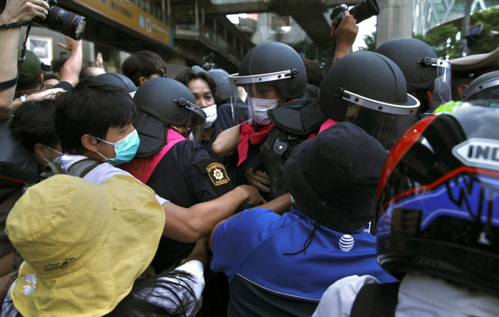 Tension Increases Over Rallies and Protesters Detained in Bangkok