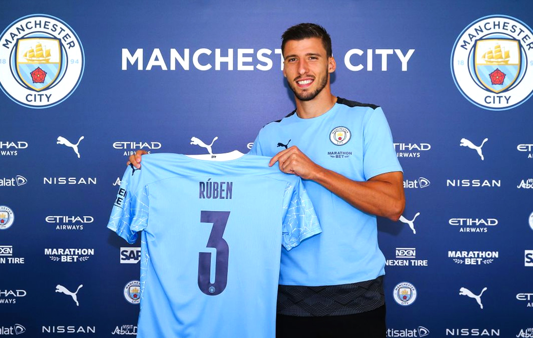 Manchester City Swoop for Ruben Dias in £65 Million Deal