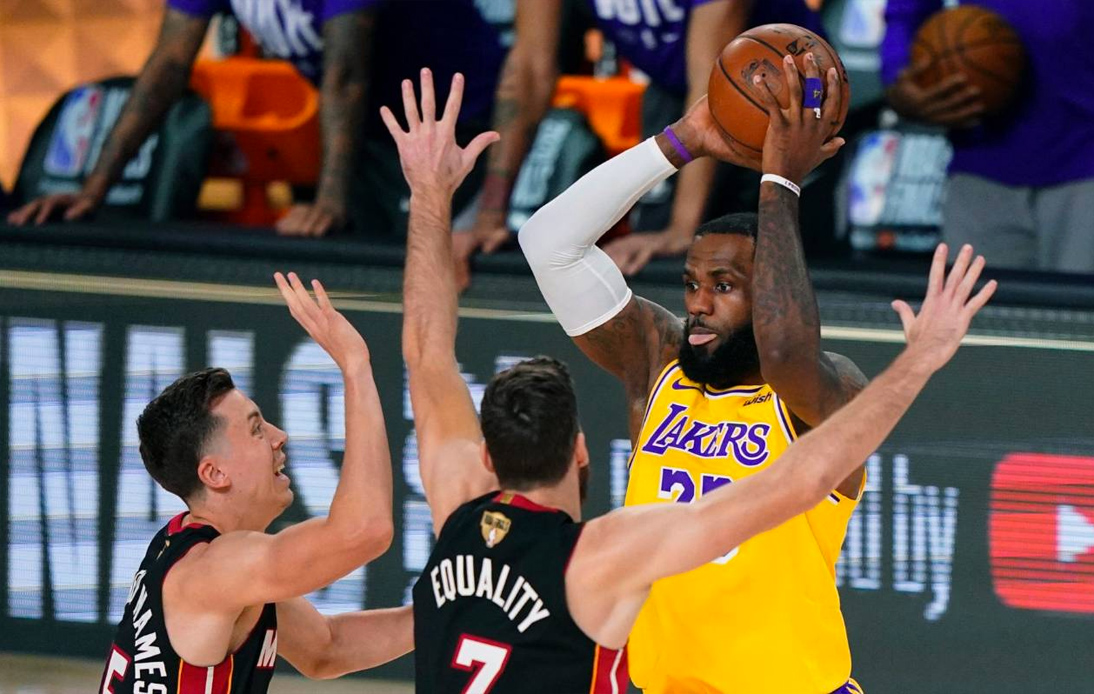 The Lakers Beat the Heat to Take a 2–0
