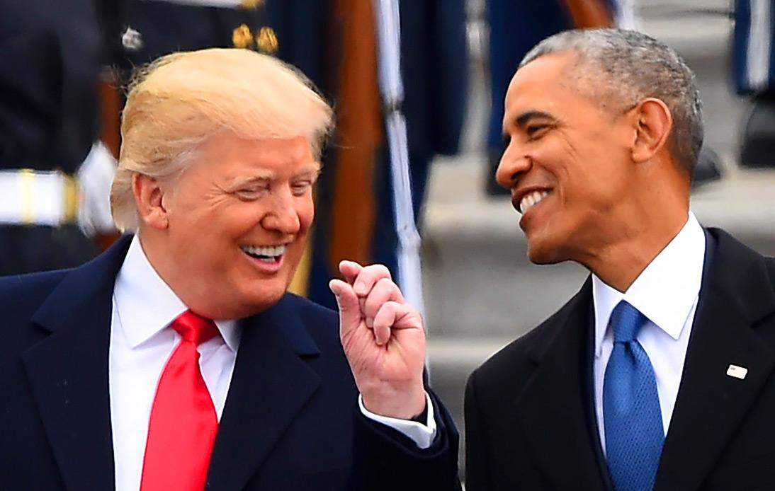 Trump & Obama