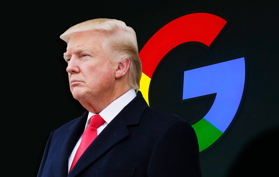 Trump Administration Sues Google for Illegal Use of Search Engine