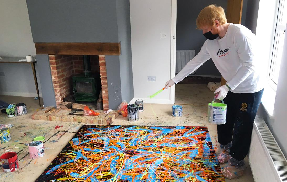 Ed Sheeran Memorabilia Raises THB 16 Million for Charity