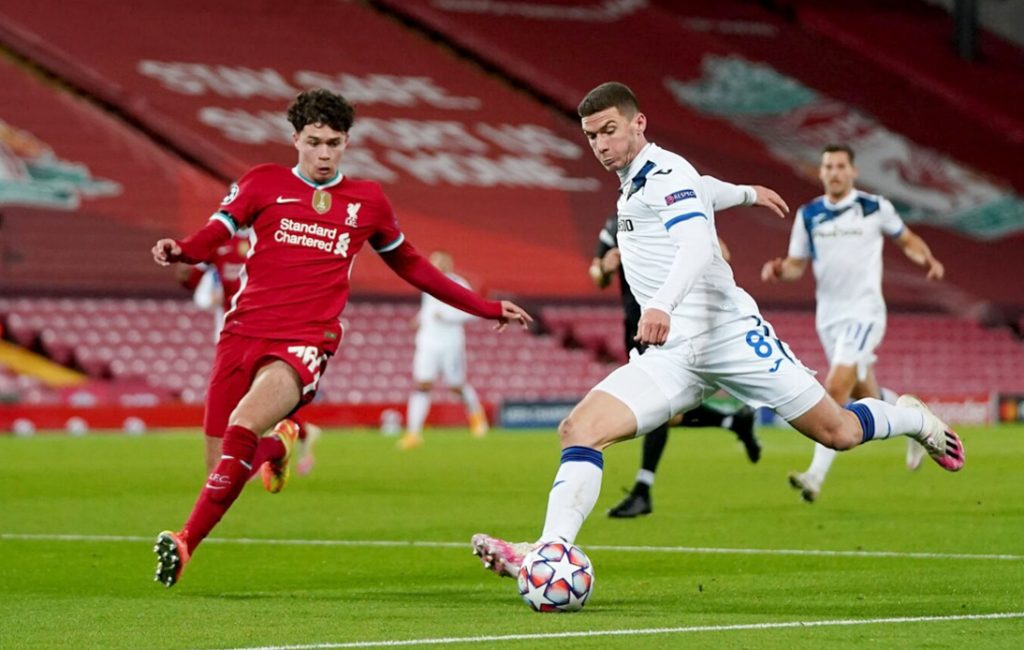 Liverpool Suffer Shock Defeat to Atalanta in Champions League