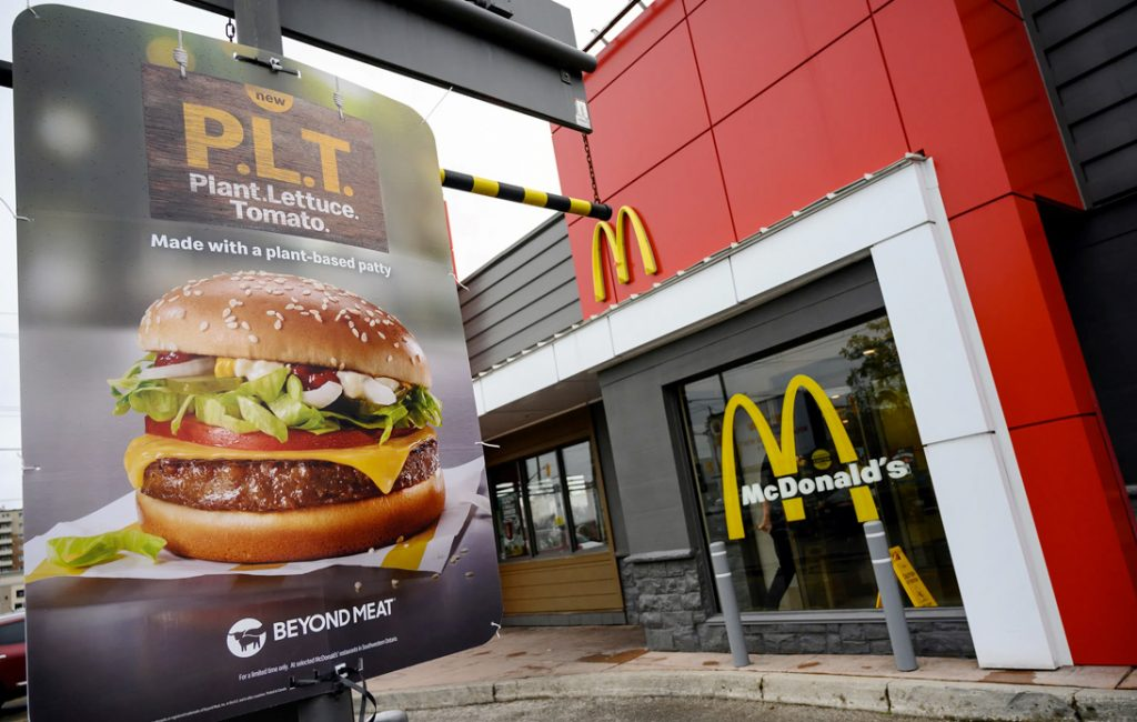 McDonald's To Introduce Plant-Based Fast Food Next Year