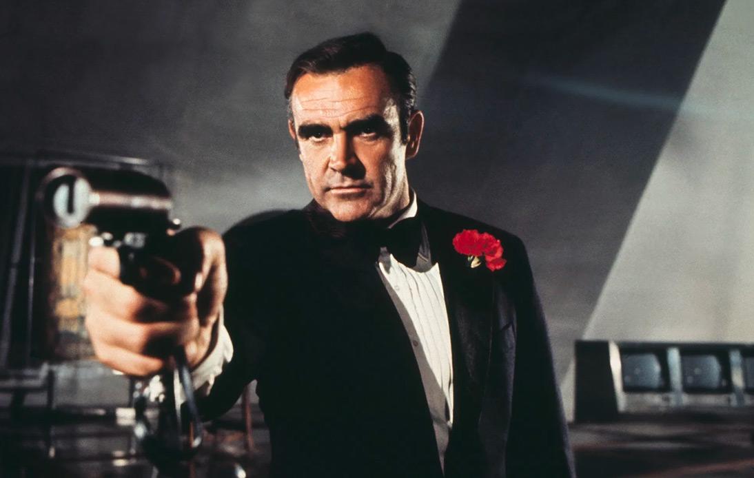 Sean Connery as James Bonds