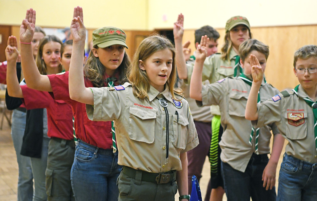 Boy Scouts Have Accused Girl Scouts of Starting a War