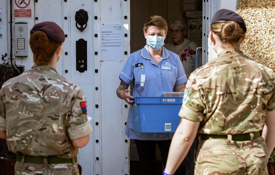 British Army Develops Spray That Kills COVID-19 in 60 Seconds