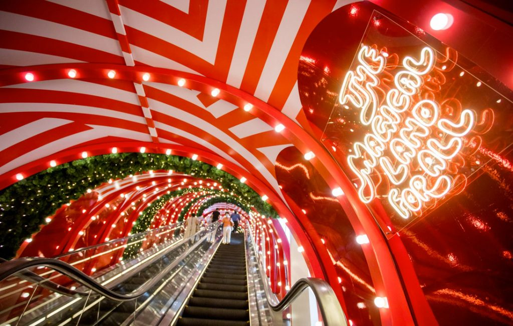 Central Embassy Transforms Into a Magical Festive Wonderland