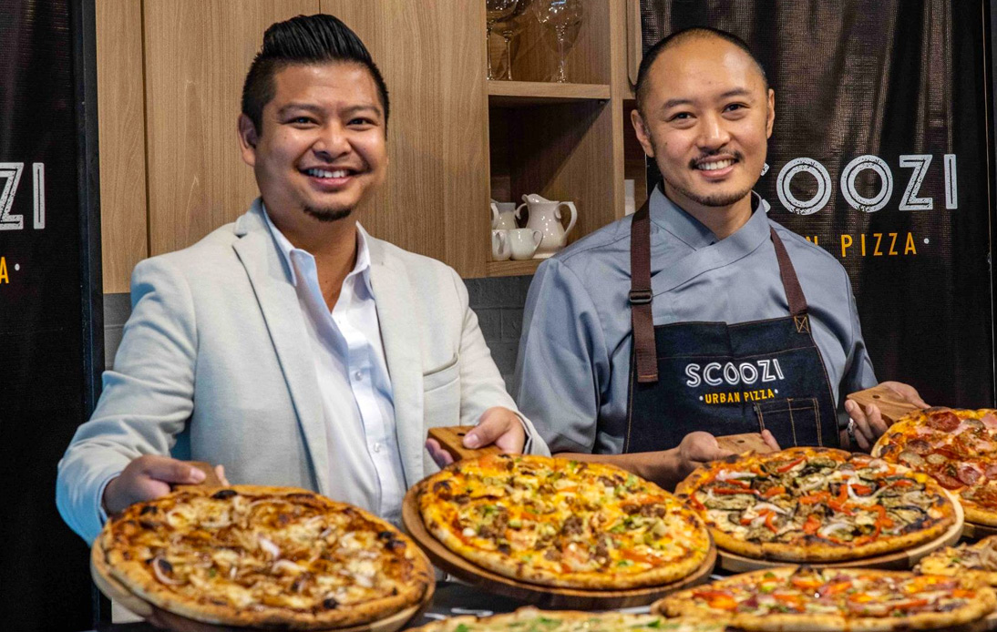 Scoozi Urban Pizza Joins the Destinations Eats Line-Up