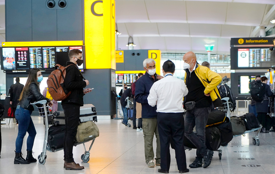 UK Passengers Must Test Negative For COVID-19 Before Visiting US