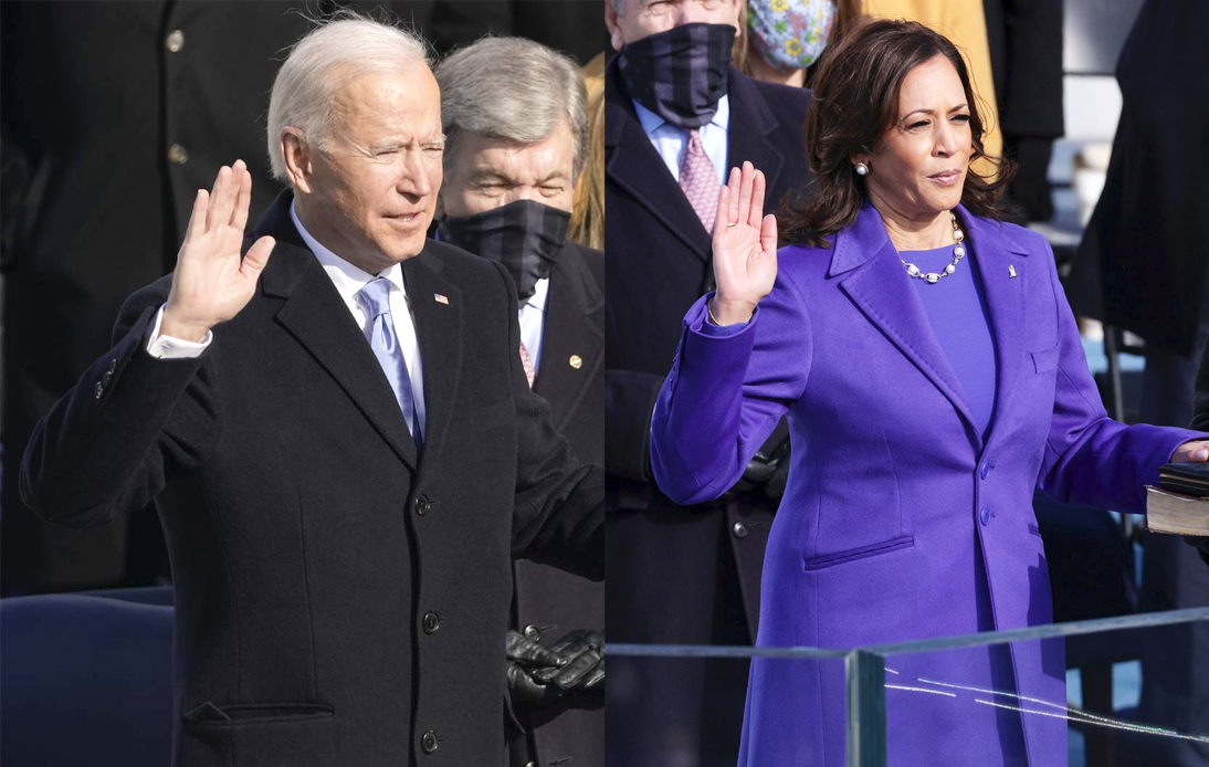 Biden and Harris Sworn In As President And Vice President