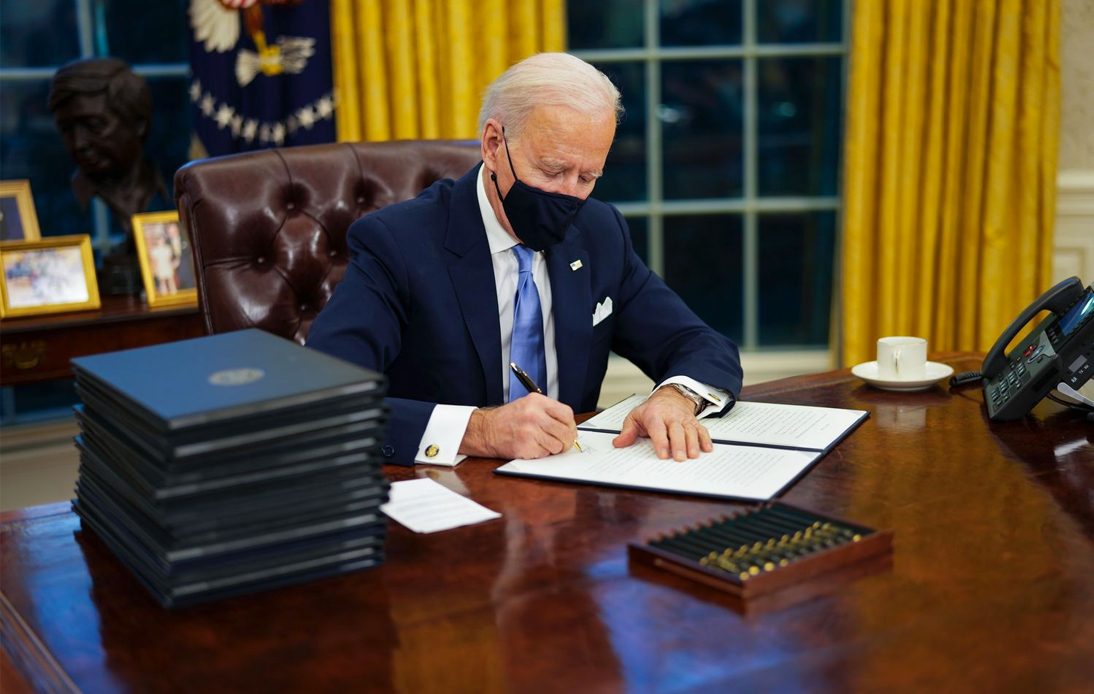 US Pandemic Strategy: Biden Signs 10 Executive Orders
