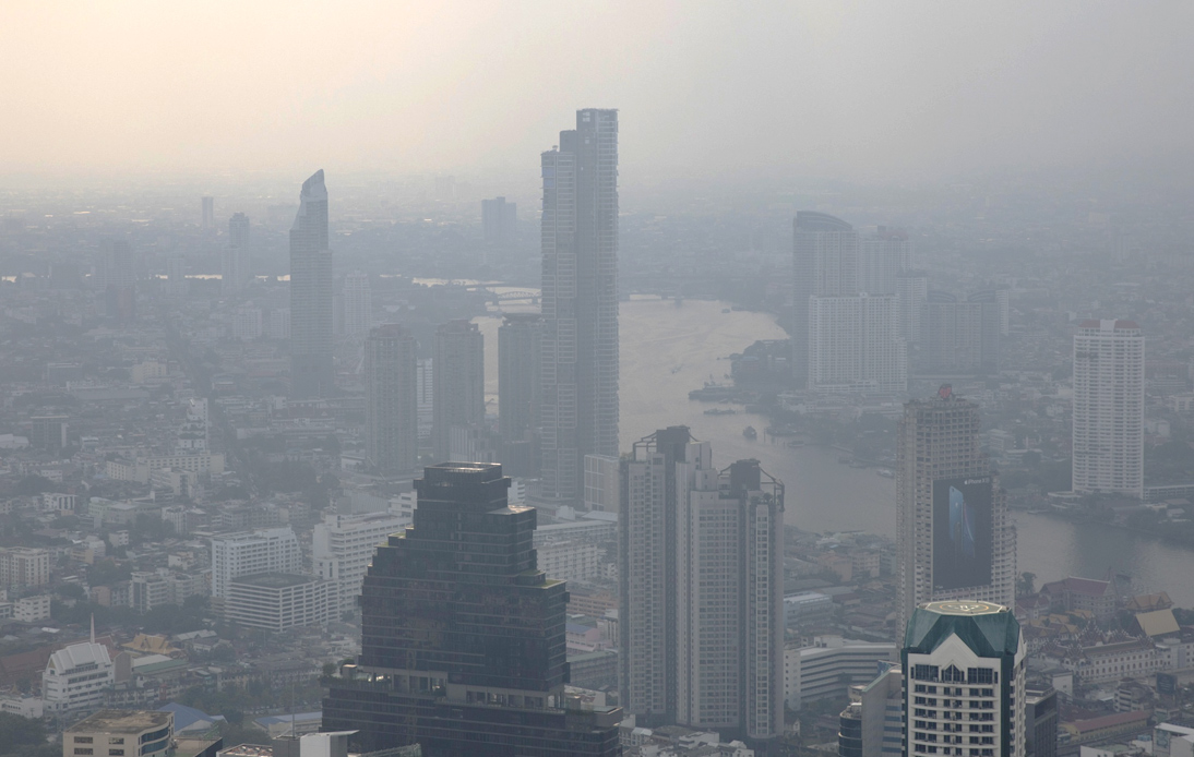 Haze in Bangkok: 'Dust Dome' Causes Air Quality To Drop