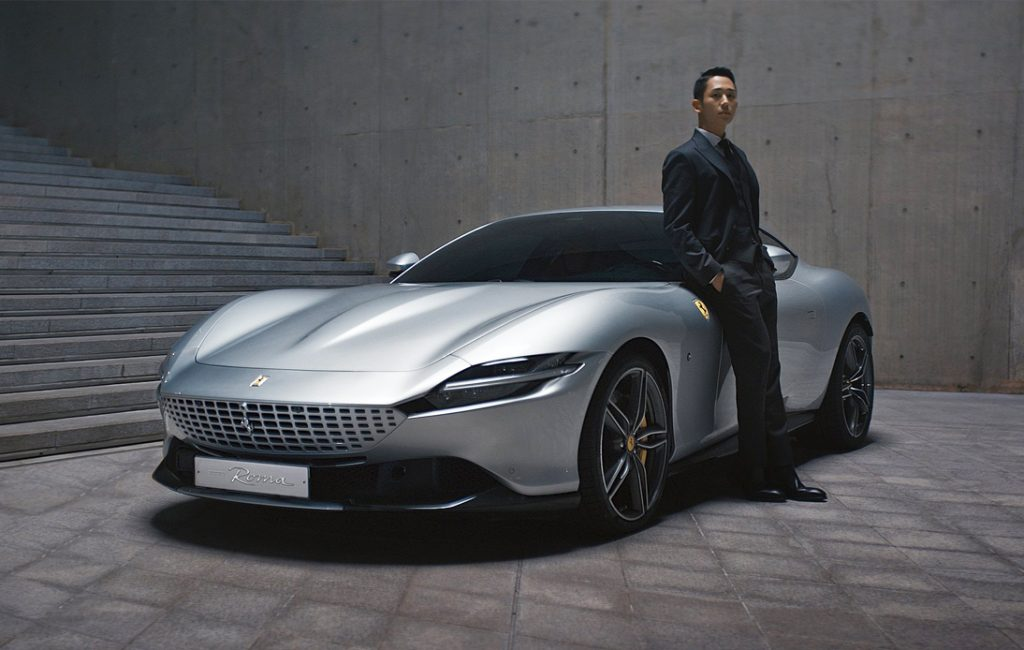 Latest Chapter of Ferrari Roma's Campaign Lands in Korea