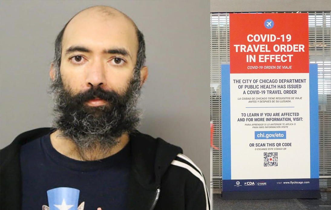 COVID-19: Man Found Living at Airport for Three Months