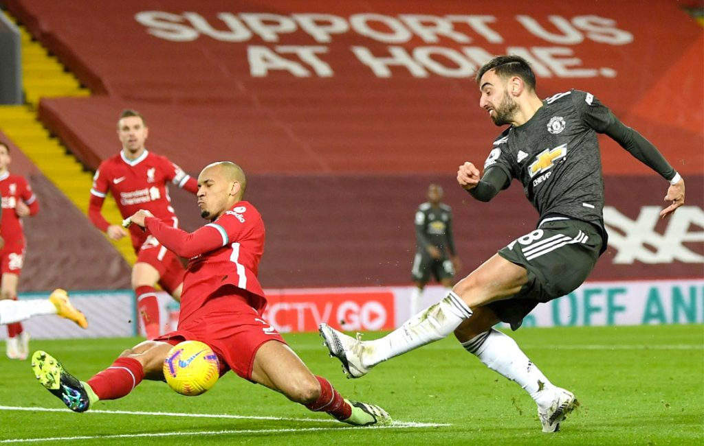 Manchester United and Liverpool Draw 0–0 at Anfield