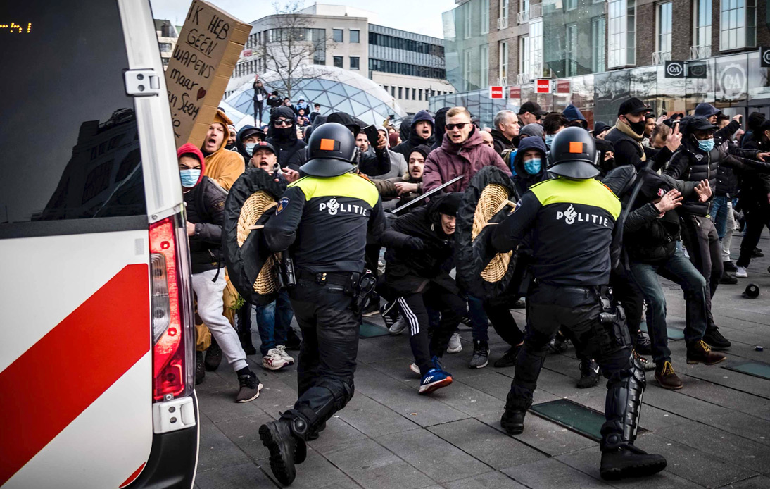 Dutch Government Refuses Lifting Curfew After Third Night Of Unrest