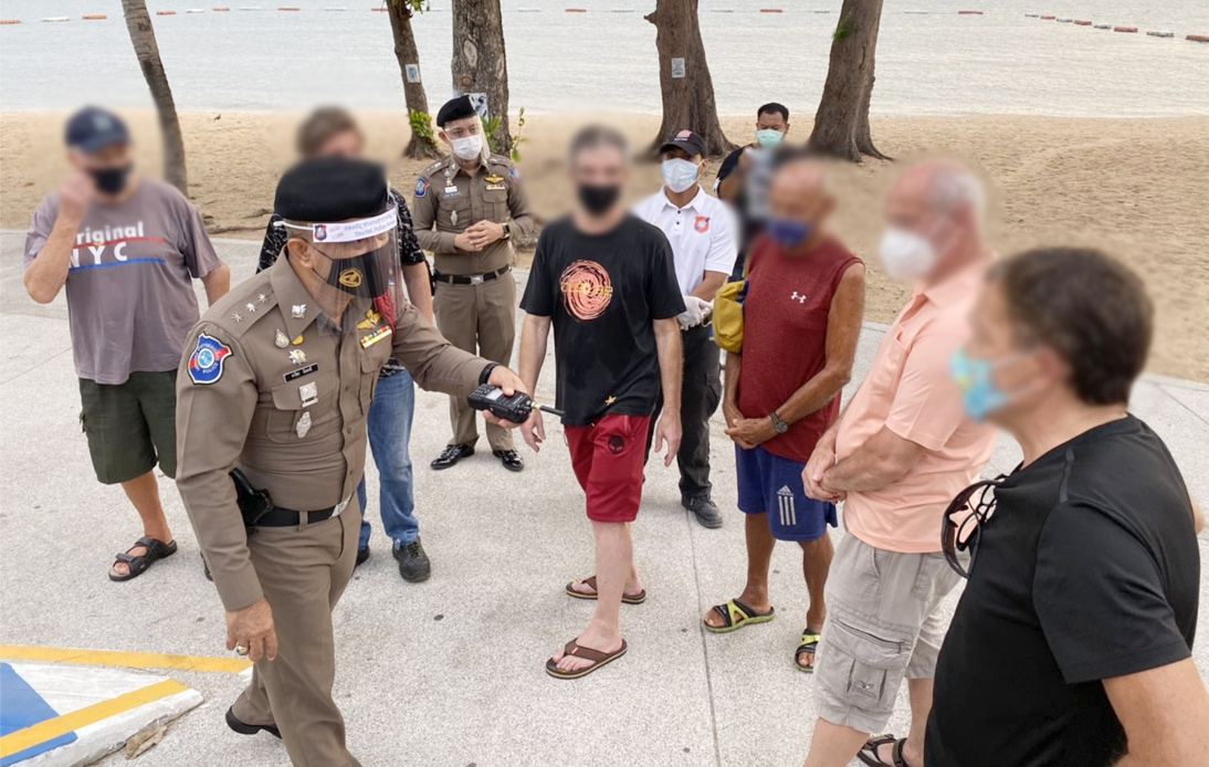 Pattaya's Expats at Greater Risk of Arrest During COVID