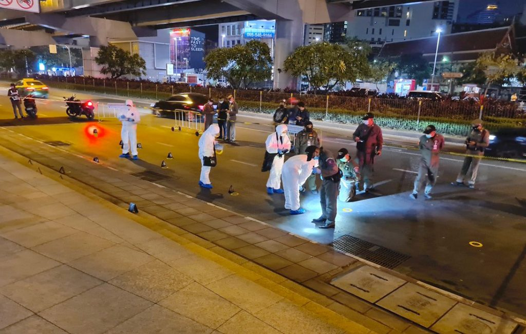 Two Arrests Made Linked to Bomb at Chamchuri Square