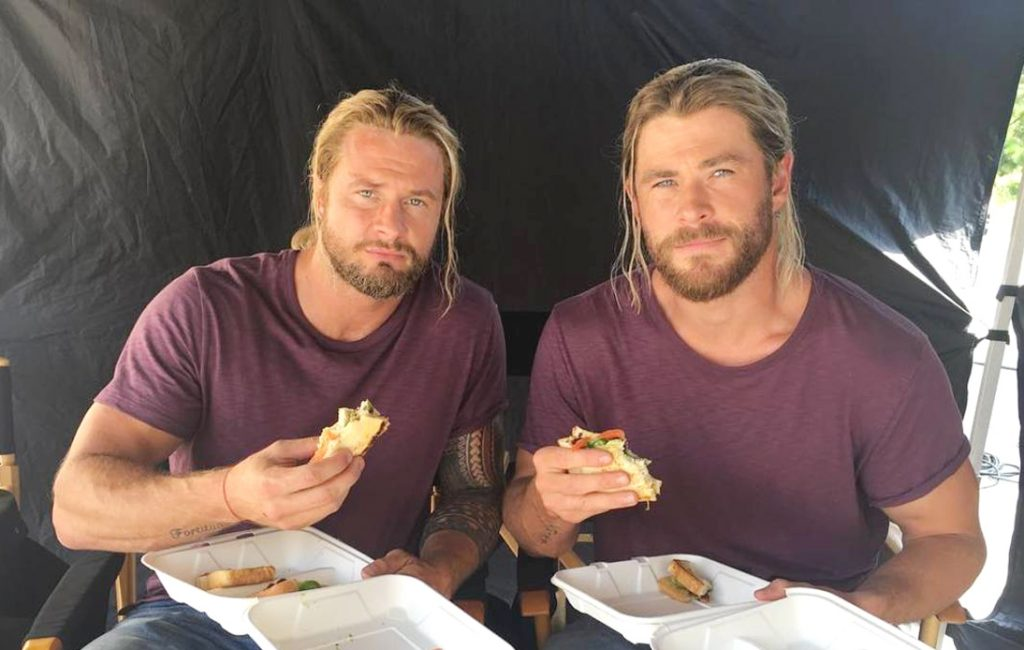 Chris Hemsworth's Stuntman Struggles With Weight Gain