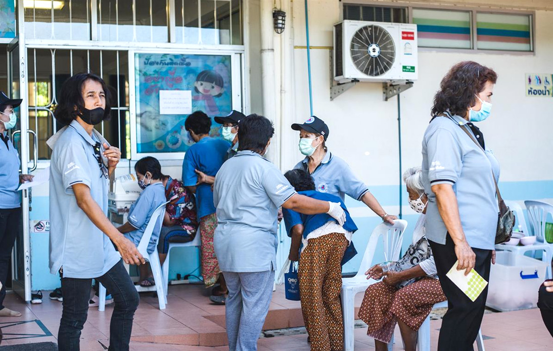 67 of 166 New Infections Found Sunday in Pathum Thani
