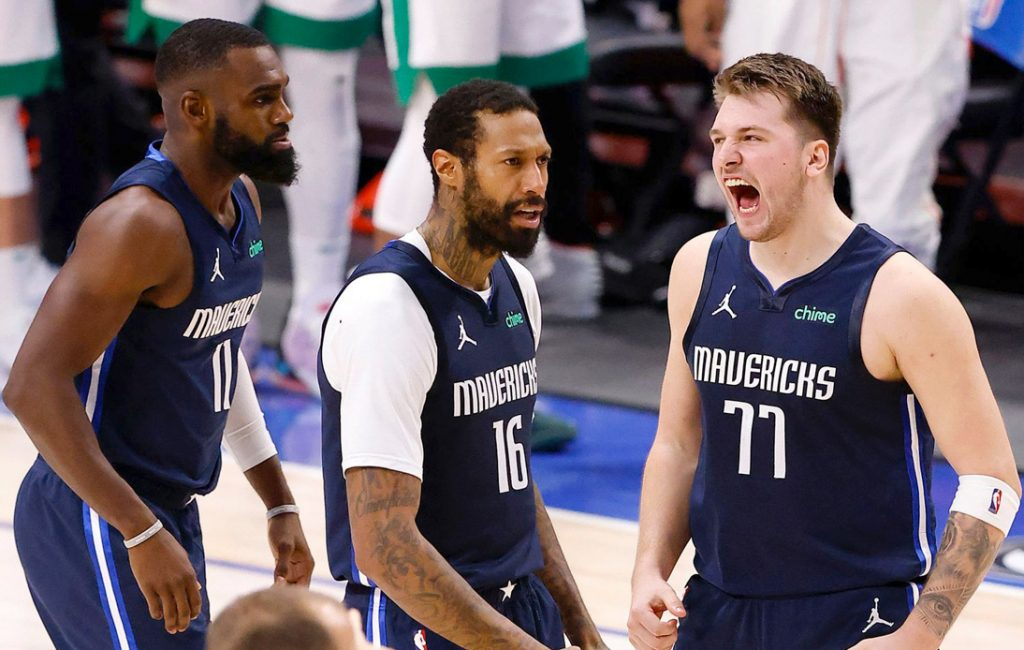 Luka Doncic Three-Pointer Gives Mavericks Win Over Celtics