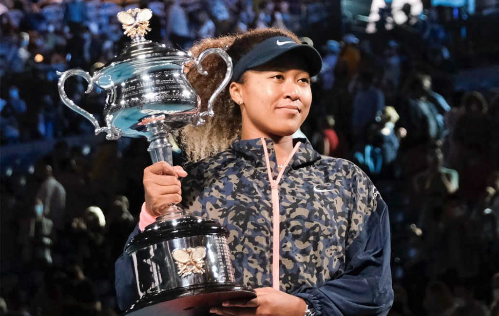 Naomi Osaka Defeats Jennifer Brady in Australian Open Final