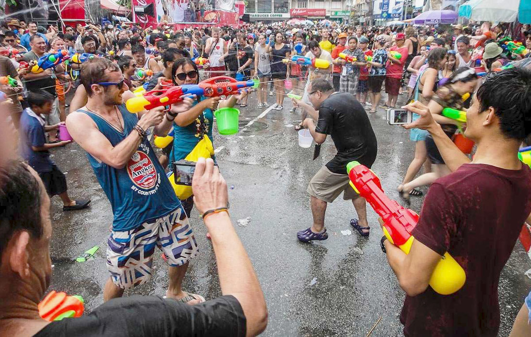 Water Fights Not Allowed at This Year's Songkran