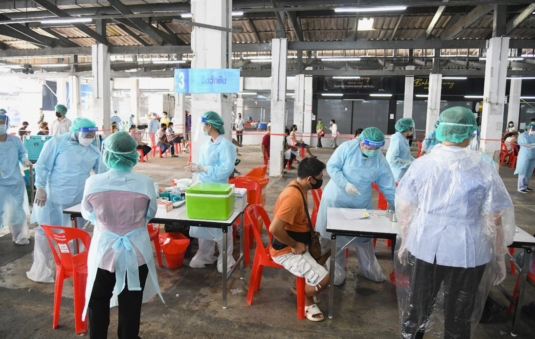 Thailand Logs 90 New Coronavirus Cases, Most in Samut Sakhon